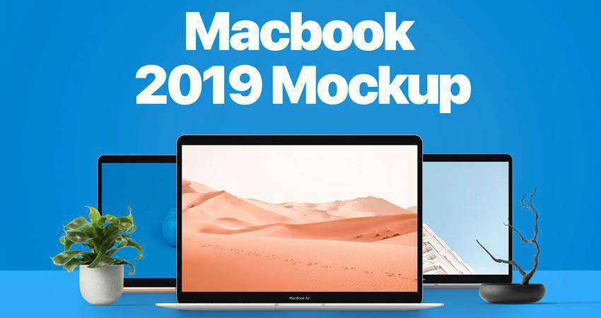 Macbook 2019 Mockup free macbook mockup template psd photoshop