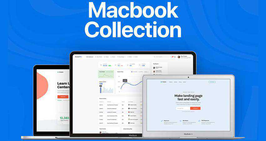 Apple Macbook Mockup Collection free macbook mockup template psd photoshop