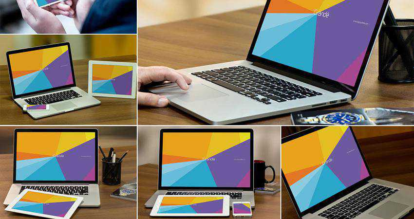 free macbook mockup template psd photoshop