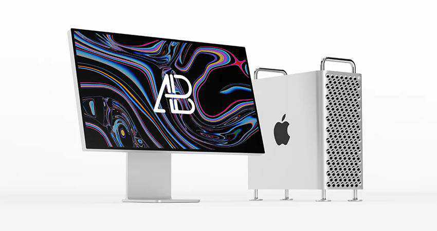 2019 Mac Pro free macbook mockup template psd photoshop
