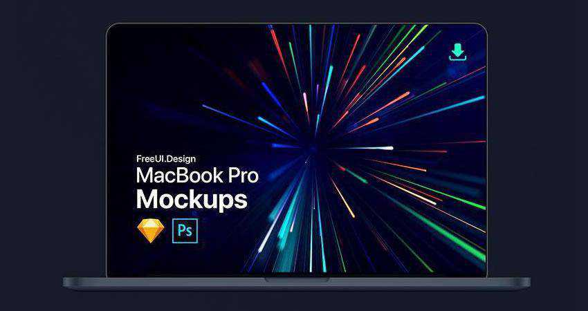 New MacBook Pro Mockup free macbook mockup template psd photoshop