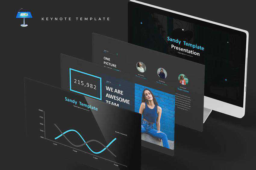 Sandy - free keynote presentation template