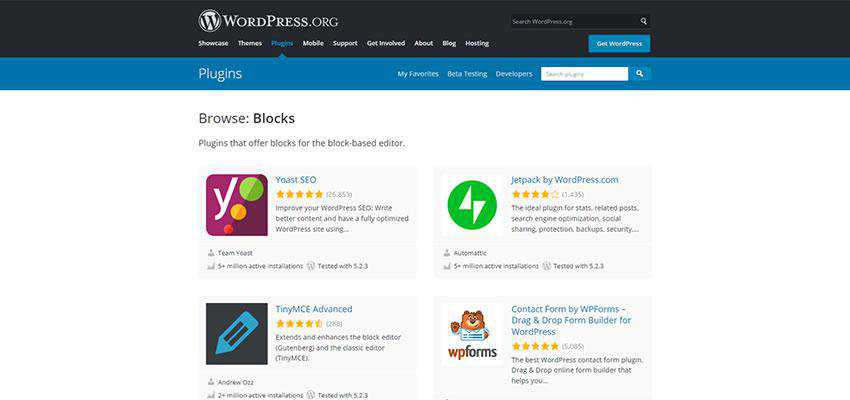 The WordPress Plugin Repository.