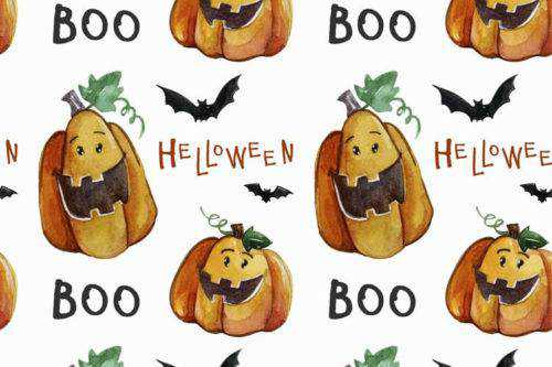 haloween-pattern