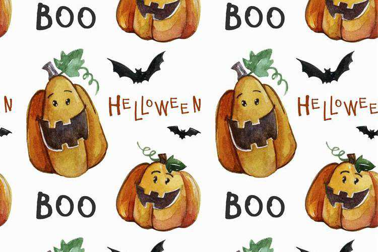 10 Free Vector Patterns for Halloween (AI, EPS & JPG)