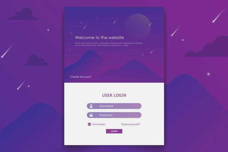 25 Login & Registration Forms with Creative Designs