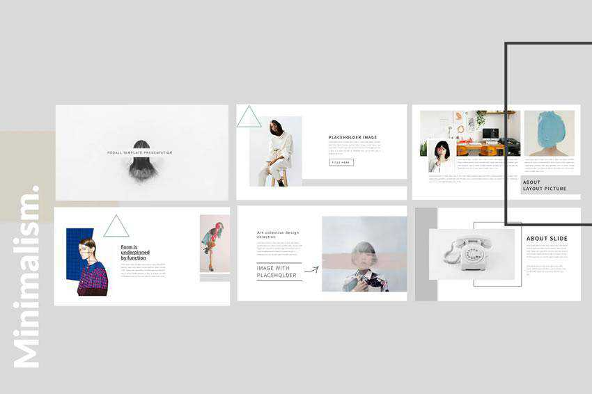 20 Best Clean Minimal Presentation Templates For