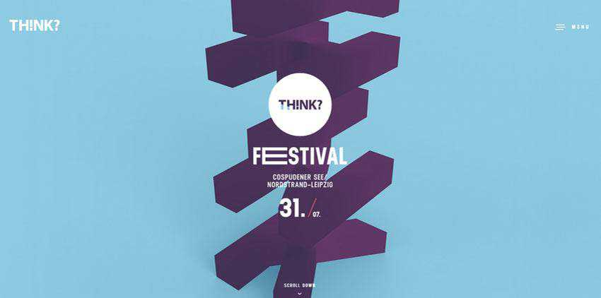 Example of Think? Festival