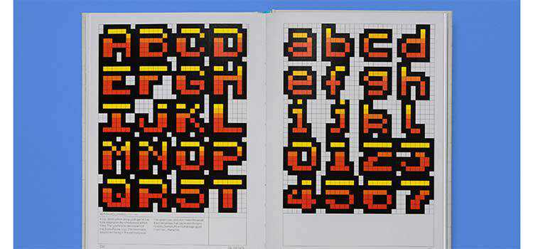 Arcade Game Typography reminds us of the best of 8 pixel monospaced fonts