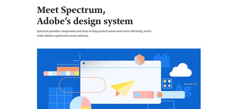 Meet Spectrum, Adobe's design system