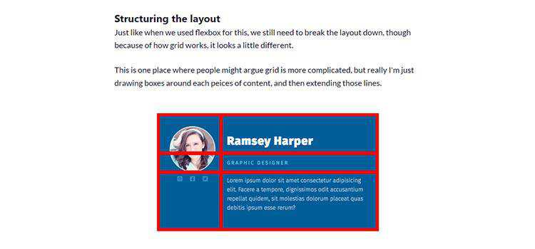 How CSS Grid changes the way we think about structuring our content