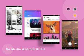 GoMedia Android UI Kit
