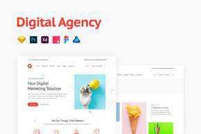 Agency Portfolio Template