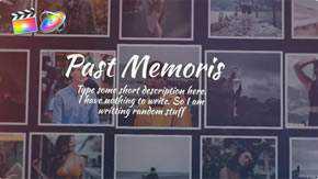 Past Memories Gallery Template