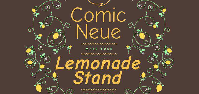 Comic Neue Font free comic cartoon font family
