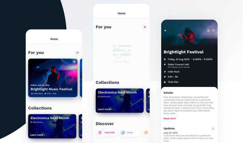 35 Free Web Mobile Ui Templates For Figma