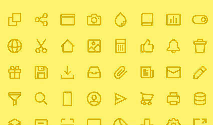 vericons free figma ui icon set