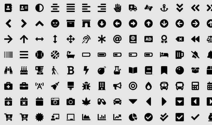 Font Awesome 5 Icon Component Library free figma ui icon set