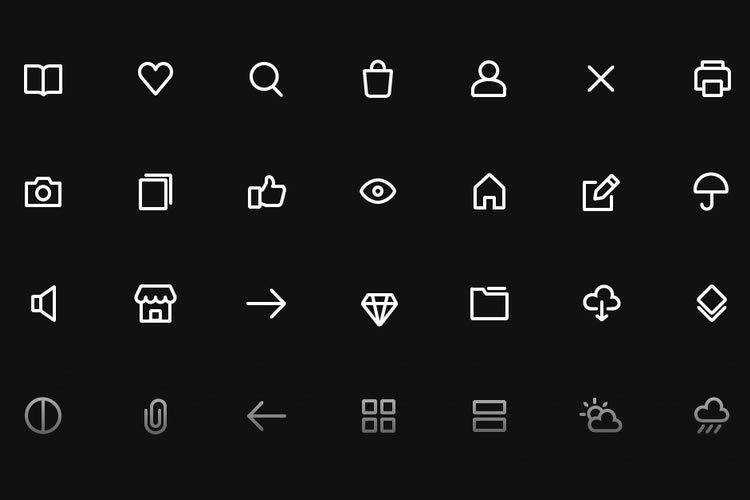 Top 50 Free Icon Sets for Web Designers in 2021