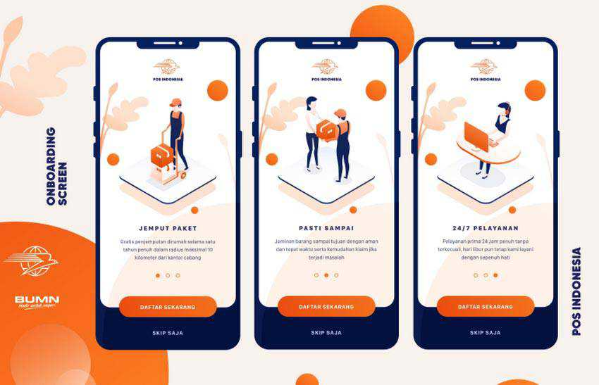 POS Onboarding Screen by Ardias Elga Kurnia