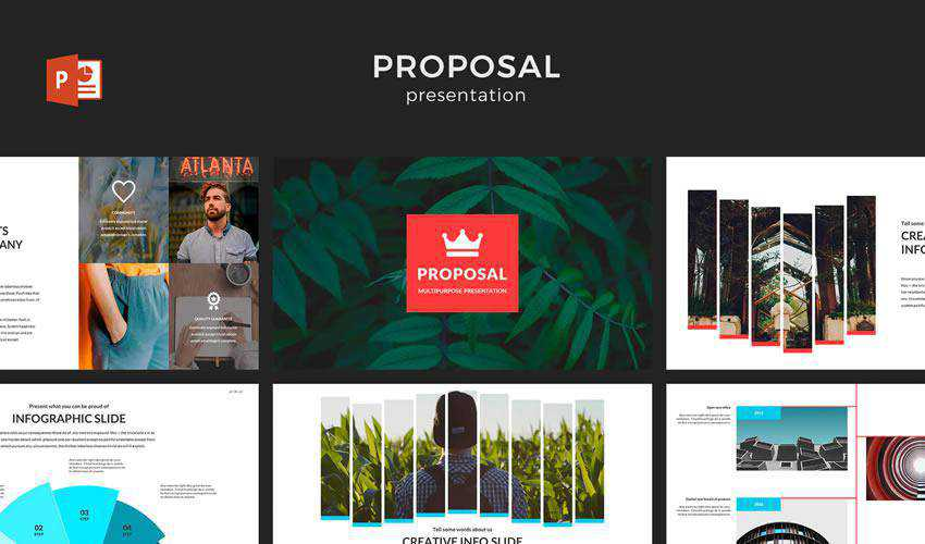 powerpoint business proposal presentation template