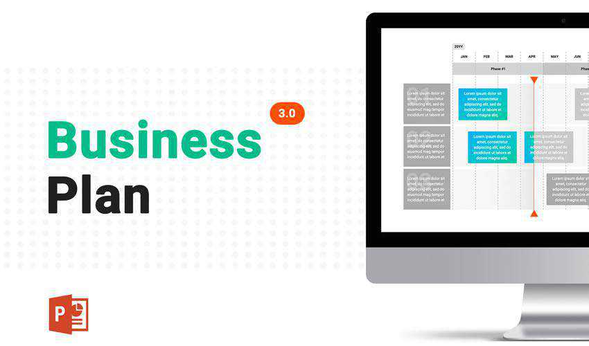 3.0 powerpoint business plan presentation template