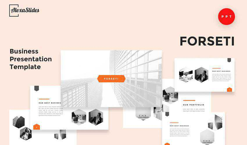 Forseti powerpoint general business multipurpose presentation template