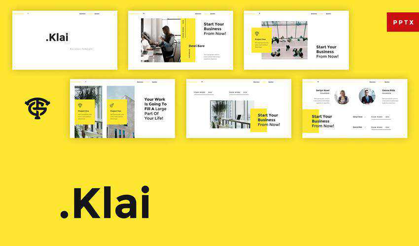 klai powerpoint general business multipurpose presentation template