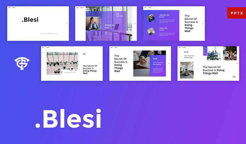 blesi powerpoint general business multipurpose presentation template