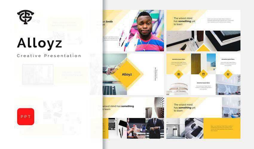 Alloyz powerpoint general business multipurpose presentation template