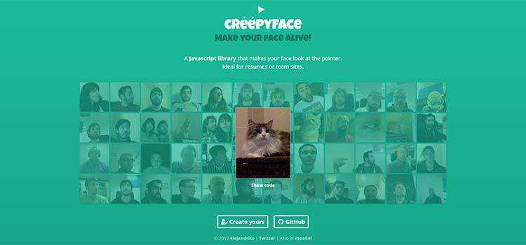 Example from Creepyface