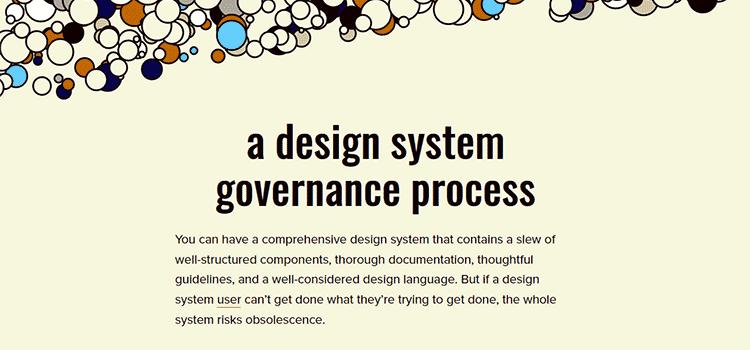 A Design System Governance Process