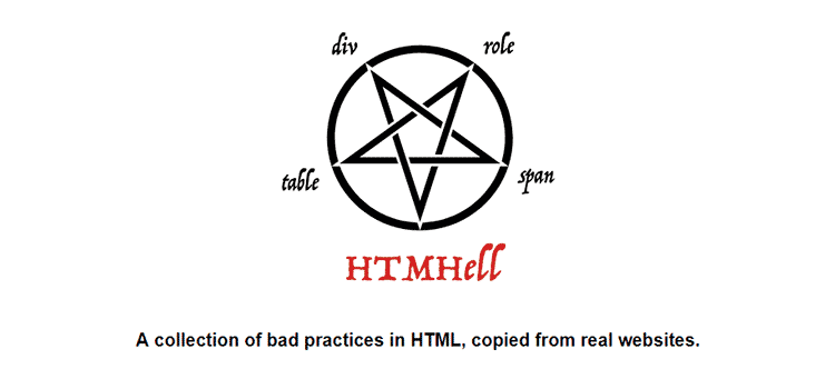 Example from HTMLHell