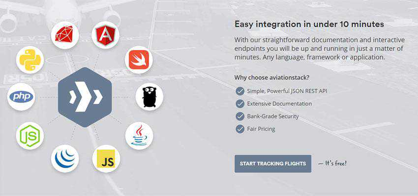 aviationstack integration chart