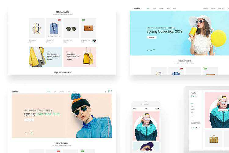 10 Free eCommerce & Shopping PSD Web Templates in 2021