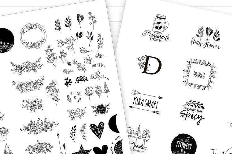 20 Free Highly-Detailed Floral Vector Packs & Templates