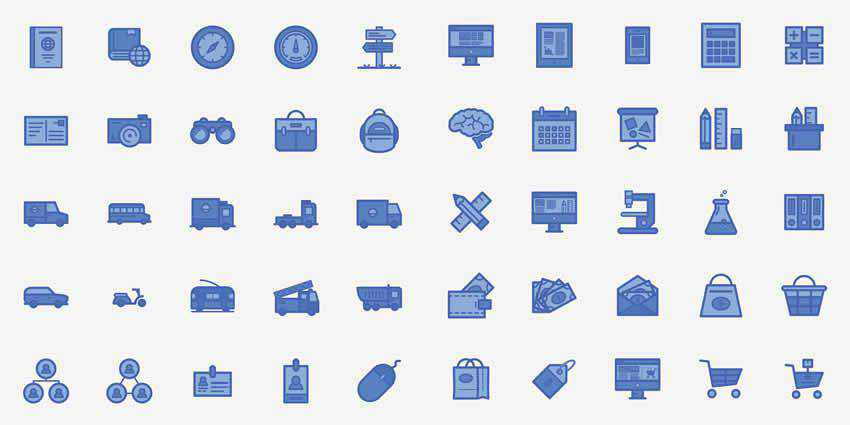 100 Free Line Icons SVG AI EPS PNG