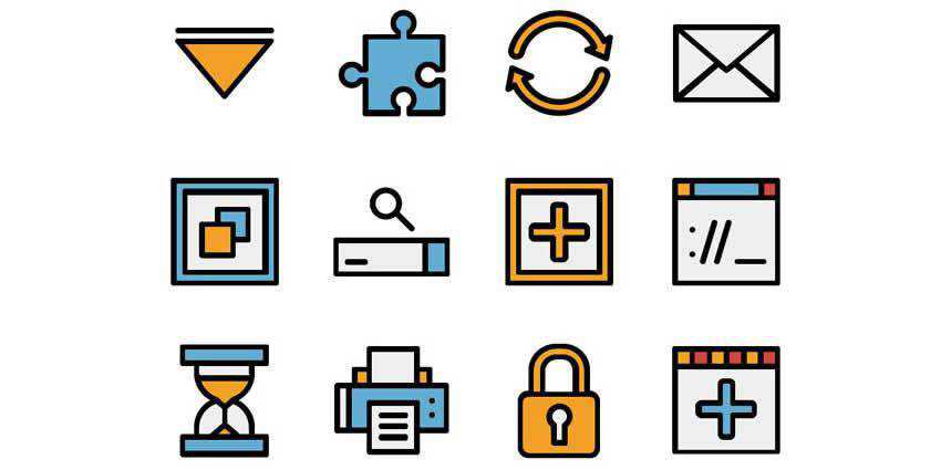 The Free Web Interface Icon Set