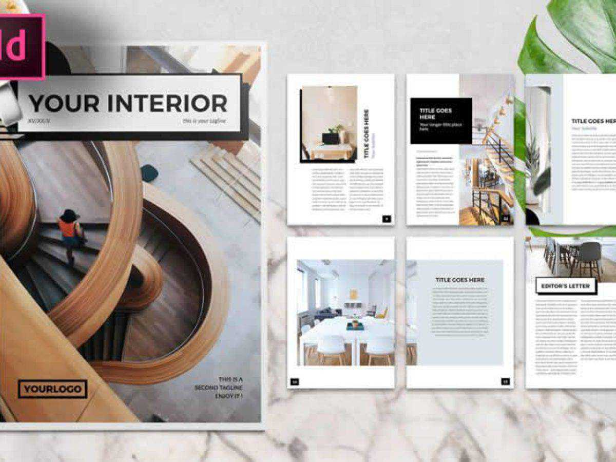 10 Free Brochure Templates For Adobe Indesign