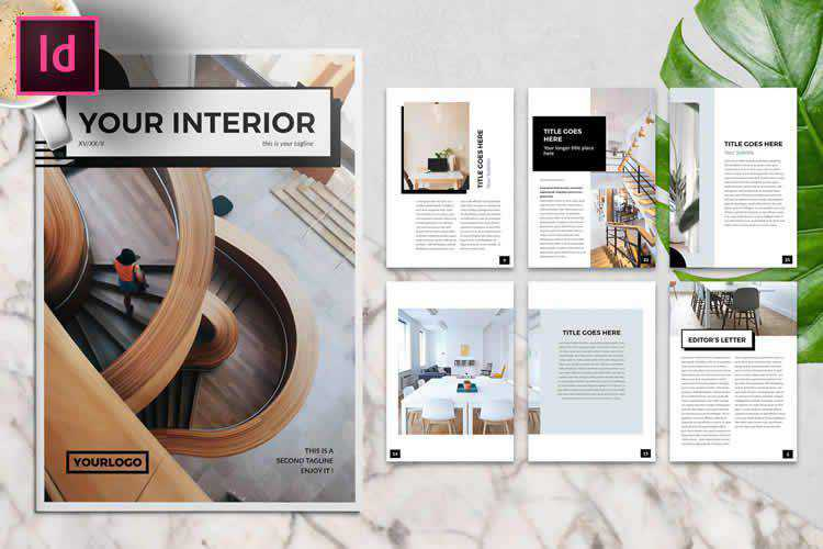 10 Free Brochure Templates for Adobe InDesign for 2021