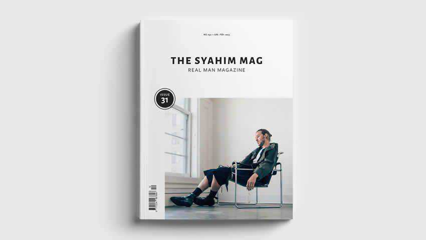 Minimal Modern InDesign Magazine Template
