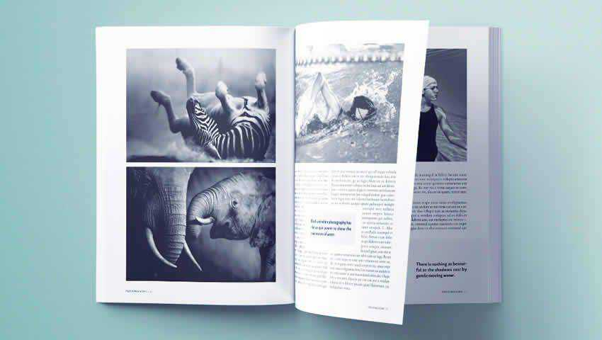 Stunning Photography Magazine Template for InDesign