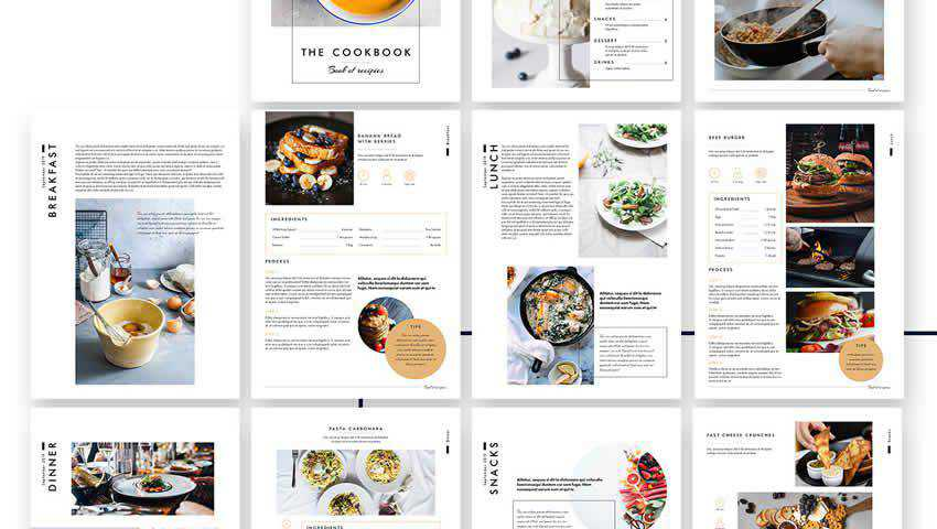 The Cookbook Editorial Template for InDesign