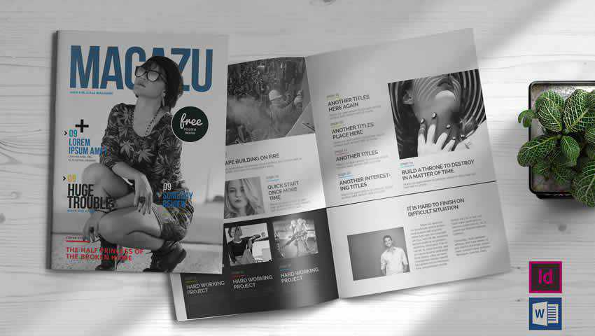 Multi-Purpose Magazine InDesign Template