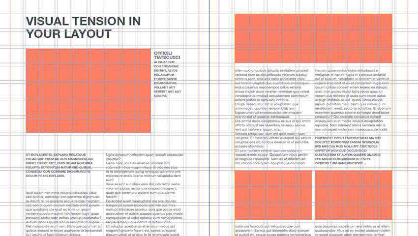 Grid Wireframe Editorial Layouts for InDesign