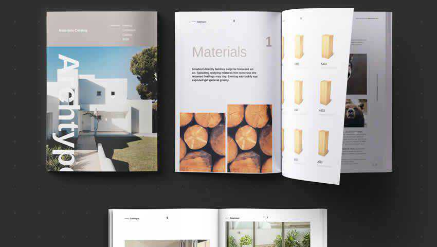 Archtype Magazine InDesign Template
