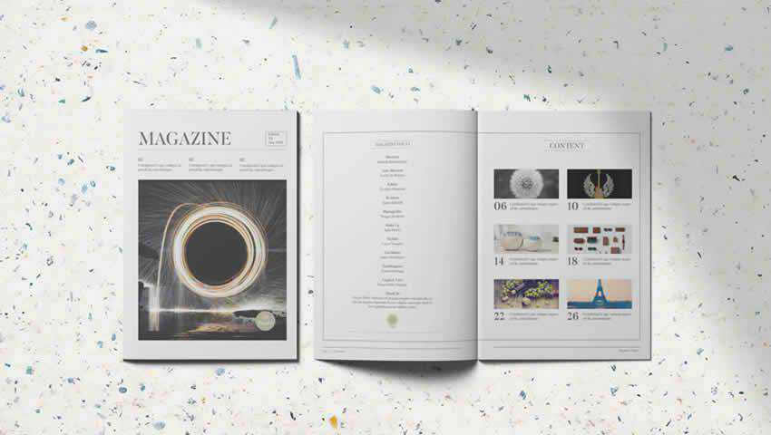 Clean and Modern Magazine Template