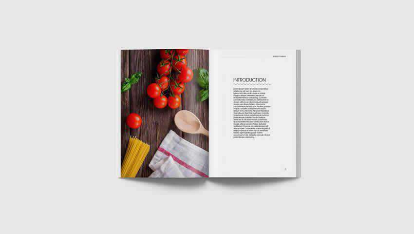 InDesign Recipe Book Template