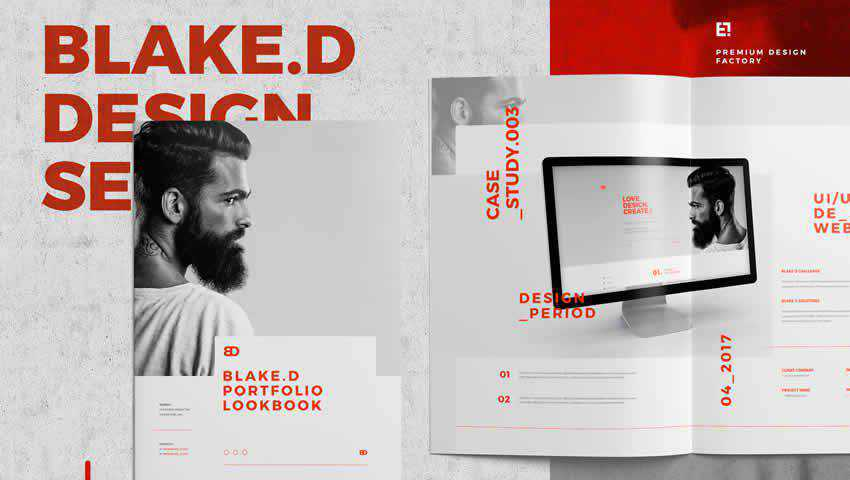 Portfolio Lookbook InDesign Template