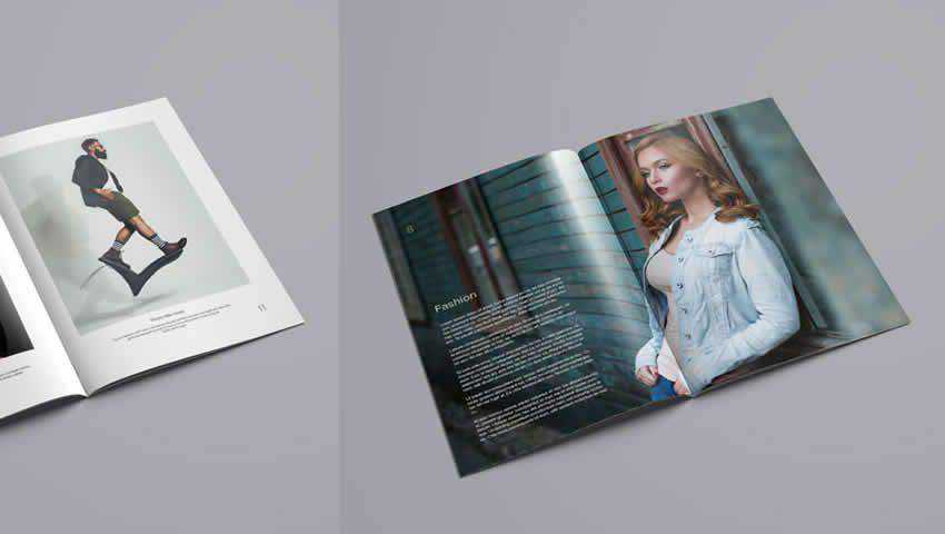 Free InDesign Portfolio Template